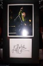Elton John Autograph matted photo signed