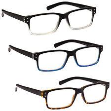 UV Reader Gafas de lectura Oferta Especial Estilo Wayfarer para Hombre para Mujer