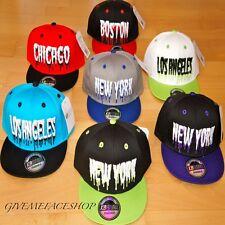 Kids Snapback Gorras, Boys/girls Plana Pico ajustada Sombreros, Hip Hop Monster de béisbol