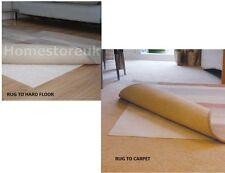 TAPPETO TAPPETINO sicuro per tappeto o di legno duro Floor Gripper ANTI SCIVOLO SLIDE ANTI PARAMOTORE