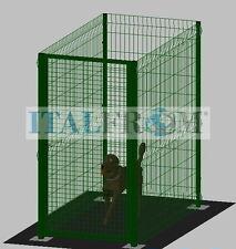 play pen run fence enclosure cage dog pet 2x1m box enclosure