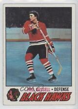 1977-78 Topps #235 Phil Russell Chicago Blackhawks Hockey Card