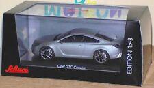 SCHUCO 07259 Voiture Miniature OPEL GTC Gris 1/43 neuf
