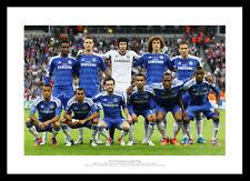 Chelsea 2012 Champions League Final Team Line Up Photo Memorabilia (581)