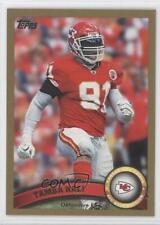 2011 Topps Gold #293 Tamba Hali Kansas City Chiefs Football Card