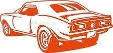 1967 1968 Chevy Camaro Chevrolet Rear Vinyl Decal Your Color Choice Sticker