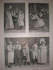 Printed Photos comic opera Gretna Green Alhambra Theatre London 1901