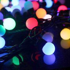 LED FAIRY LIGHTS / STRING LIGHTS RGB COLOUR CHANGING SLOW FADE CHRISTMAS XMAS UK