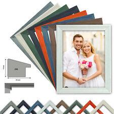 Holzrahmen VICTORIA, Wechselrahmen 8 Farben, Fotorahmen, Profil HxB 17x24m