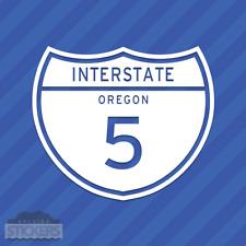 Interstate 5 Oregon Vinyl Decal Sticker Freeway Highway