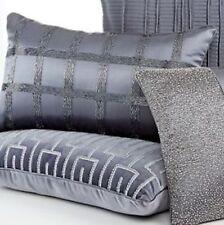 "Hotel Collection Finest Velvet & Silk Beaded Pillow  14"" X 24"" NWT"