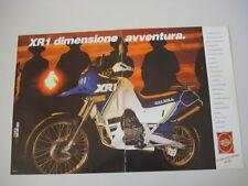 advertising Pubblicità 1988 MOTO GILERA XR1 XR 1 125