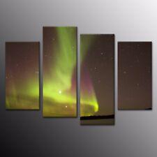 Landscape HD Canvas Print Wall Art Painting Picture Home Decor Green Light 4pcs