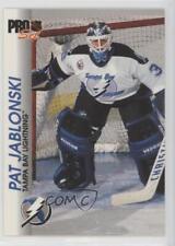 1992-93 Pro Set #178 Pat Jablonski Tampa Bay Lightning Hockey Card