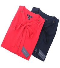 Tommy Hilfiger Women's Button-Down Sleeveless Blouse - $0 Free Ship