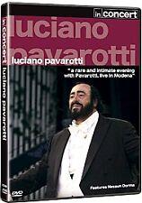 LUCIANO PAVAROTTI - Pavarotti In Concert: Modena (DVD, 2007) - NEW - All Regions