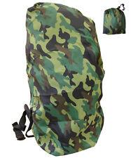 Zaino Pioggia Esercito Mimetico Impermeabile Sacchetto Copertura Militare Zaino COMBAT WOODLAND