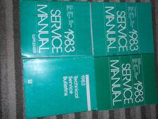 1983 CHRYSLER LEBARON Shop Repair Service Manual Set FACTORY OEM MOPAR BOOKS