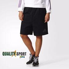 Adidas ZNE Mesh Short Nero Donna Pantaloncino Abbigliameto Sportivo BS3580 2017