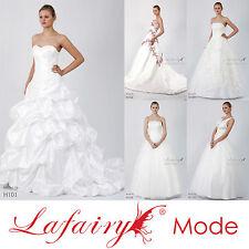 Brautkleid Hochzeitskleid viele Modelle + Größen zur Auswahl von lafairy Mode