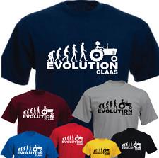 APE HUMAN TRACTOR EVOLUTION Claas Farmer Farm Funny Present Gift T-shirt