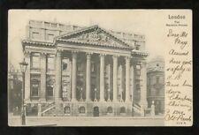 LONDON MANSION HOUSE 1904 PPC PEACOCK CARD +MACHINE PMK
