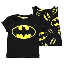 England DC Batman + Cape Children's Boy's T-Shirt Size 92 - 128
