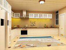 3D Beach View 150 Kitchen Mat Floor Murals Wall Print Wall Deco AJ WALLPAPER US
