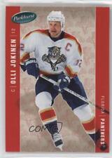 2005-06 Parkhurst #201 Olli Jokinen Florida Panthers Hockey Card