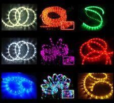 ab3€/m LED Lichterschlauch Lichtschlauch 38m Farbwahl Anschlußfertig mit Stecker