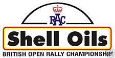 BRITISH RALLY BADGE - RACE NUMBER GRAPHIC / STICKER