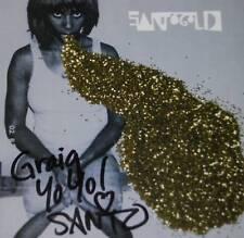 Santogold Santi White SIGNED CD Cover ONLY COA