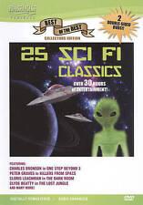25 Sci Fi Classics (DVD, 2010, 2-Disc Set)