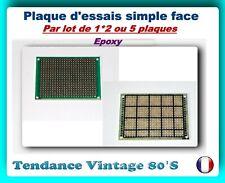Plaque d/'essai epoxy etamee double face CMS 160x100mm                 CIE1610CMS