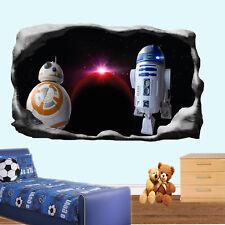 Space Star Planets Wars Robots Wall Sticker Art 3D Poster Decal Mural Decor RJ4