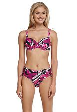 SCHIESSER AQUA Damen Bügel-Bikini Gr. 38 40 42 44 M L XL XXL Cup B C D Bademode