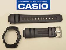 CASIO ORIGINAL WATCH BAND & BEZEL G-SHOCK  AWG-101 AWG-100 AW-590 AW-591