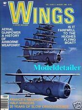 Wings Magazine V10 N4, France Nieuport Delage RAF V Bomber Handley Page Victor
