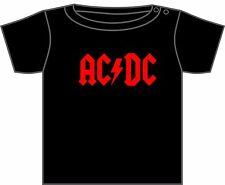 AC/DC T-SHIRT TODDLER TSHIRT ACDC LOGO ROCK METAL MUSIC BAND ASST COLOURS 0-4 YR