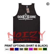 God-Core Hardcore Christian TANK TOP Jesus Religious Black Shirt Rock Metal Fish