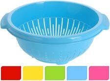 Sieb fünf Farben, Nudelsieb Küchensieb Salatsieb Abtropfsieb  NEU / OVP