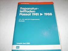 Werkstatthandbuch VW Passat B2 Vergaser - Motor 1,3 l / 1,6 l / 1,8 l ab 1981