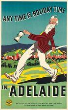 Vintage Adelaide Australien Tourismus Plakat A3 drucken