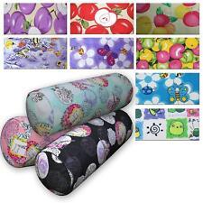 Bolster Cover*Modern Cotton Canvas Neck Roll Tube Yoga Massage Pillow Case*AL1