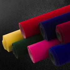 Self Adhesive Velvet Suede Fabric Velour Sticker Background DIY Jewel Box20*30cm