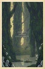 RGC Huge Poster - Studio Ghibli Princess Mononoke Poster Glossy Finish - STG033