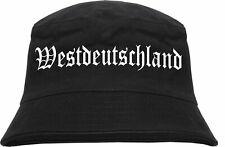 Westdeutschland Fischerhut - Bucket Hat - Bundesrepublik Deutschland BRD Westen