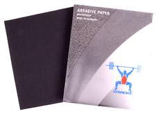 Schleifpapier wasserfest 230 mm x 280 mm Nass Schleif Papier Körnung Sand Papier