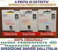 PENDRIVE ULTRA FIT USB 3.1 Sandisk 32 64 128 GB Chiavetta 130 MB/S Memoria 2020