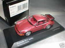 1/43 Minichamps Porsche 911 Turbo 1990 Red Metallic